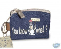 Droopy blue purse