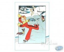 Spirou ice skater