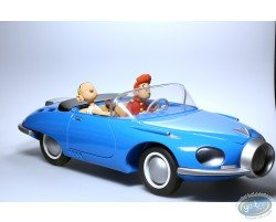 Turbot traction car 1 blue