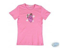 T-shirt short sleeve lila Barbapapa: size S, mirror