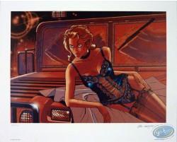 Woman & Jeep