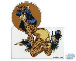 Pin-up leopard