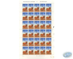 30 stamps sheet