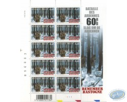 10 stamps sheet Forest
