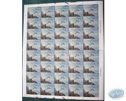 40 stamps sheet naviguation spatiale