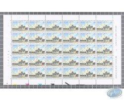 30 Stamps Sheet Cinquantenaire
