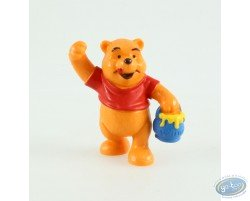 Winnie standing with his jar of honey, Disney