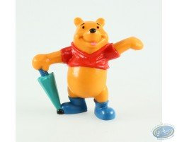 Winnie with his umbrella, Disney