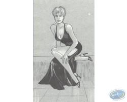 Black Dress (sitting)