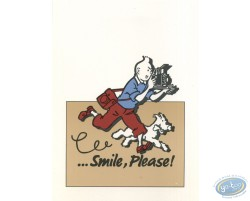 ...Smile, please ! - Beige (vertical)