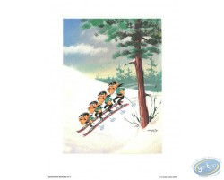 The Dalton skiing