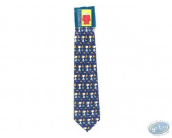 Snoopy aviator blue tie
