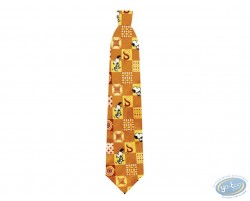 Snoopy orange square tie