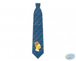 Simpson Homer brain blue tie