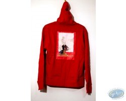 Sweat-shirt, Corto Maltese : Hood Woman 04-02 size XS