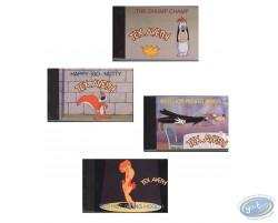 4 Flip books Tex Avery