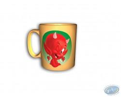 Mug, Hot Stuff : Yellow mug