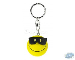 Key ring, Smiley glasses