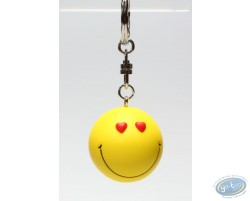 Key ring, Smiley heart
