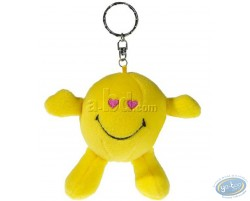 Plush Key ring, Smiley heart