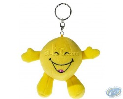 Plush Key ring, Smiley laughing