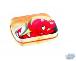 Hot Stuff : little metal box (orange)