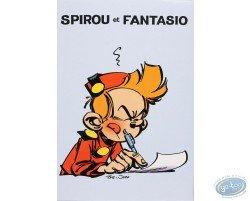 Stationery with envelopes, Spirou & Fantasio (blue)