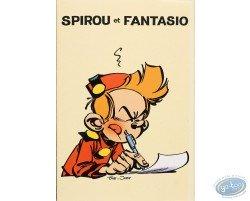Stationery with envelopes, Spirou & Fantasio (yellow)