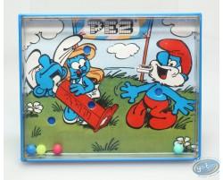 Smurf's game Pez - blue