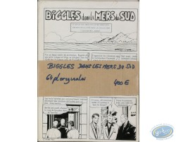 Biggles in the South Seas - 64 original sheets
