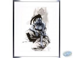 Original drawing - Naked woman