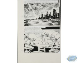 Original boards, Platillos Volantes (Flying saucers) - Ribera