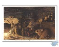 Goblin in storehouse