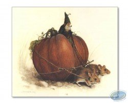 Goblin on pumpkin