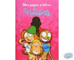 Stationery with envelopes, Les Nombrils : My stationery