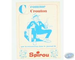 Blotting, C comme Crouton, Journal de Spirou