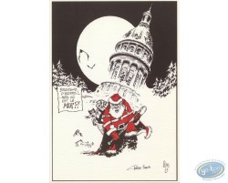 Santa Claus in Boulogne