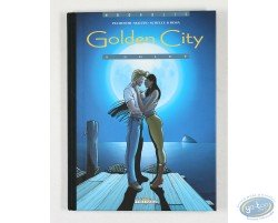 Deluxe comic book, Malfin, Golden City volume 4 : Goldy