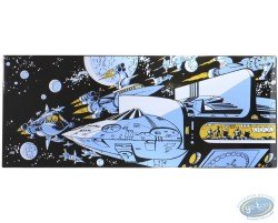 Mézières, The Empire of a Thousand Planetes, Ships in Space. 20 COPIES ONLY