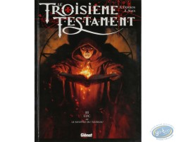 Comic book, Alice, Le Troisieme Testament volume 3 : Luc, ou le Souffle du Taureau (dedication)