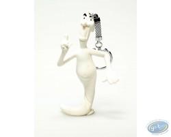 PVC keyring, Casper : Ghost fingering