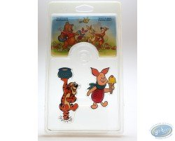 Set of 6 magnets, Winnie the Pooh, Disney