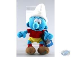 Smurf footballer 20 cm
