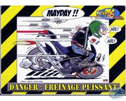Metal plate, Mayday