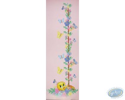 Tweety with butterflys 90X30 cm