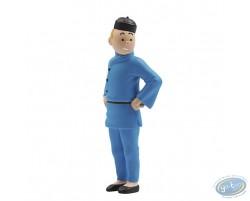 Tintin Blue Lotus (9 cm)