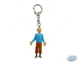 Tintin in blue sweater (5,5cm)
