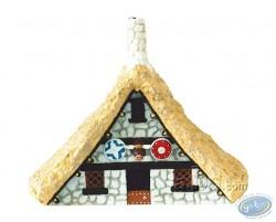 Maison de Poupées petit métal signe = Pêcheur Cottage SIGNE