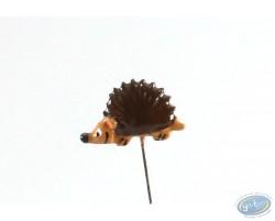 Lapel pin, Hedgehog, Pixi