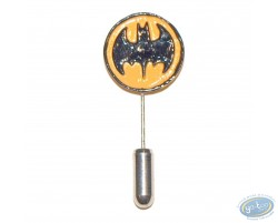 Lapel pin, Batman Round shield, Pixi